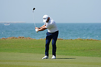 Jordan Smith (ENG) on the 9th during Round 3 of the Oman Open 2020 at the Al Mouj Golf Club, Muscat, Oman . 29/02/2020<br /> Picture: Golffile   Thos Caffrey<br /> <br /> <br /> All photo usage must carry mandatory copyright credit (© Golffile   Thos Caffrey)