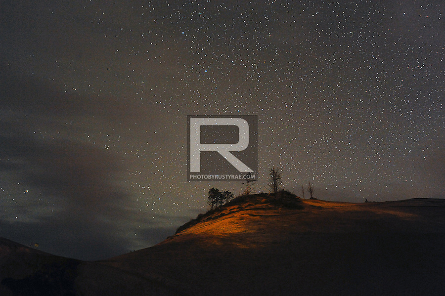 Stars cape at Cape Kiwanda State Natural Area near Pacific City, OR.