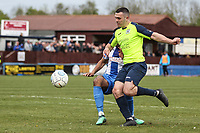 Frank Mulhern (Stockport County) during the Vanarama National League North match between Nuneaton Town and Stockport County at the Liberty Way Stadium, Nuneaton, England on 27 April 2019. Photo by James  Gill.