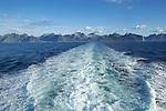De nombreux ferries traversent le detroit entre Bodo et les Lofoten