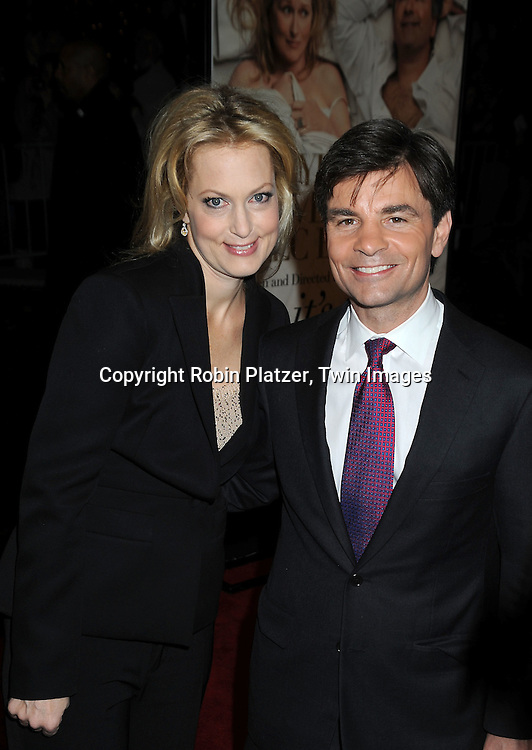 Alexandra Wentworth and husband George Stephanopoulos