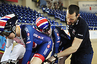 Picture by Simon Wilkinson/SWpix.com - 05/03/2017 - Cycling 2017 UCI Para-Cycling Track World Championships, Velosports Centre, Los Angeles USA - Jon Norfolk coach<br />