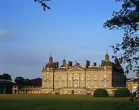 The west front of Houghton Hall with its double staircase