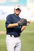July 5th 2008:  Pitcher Tim Dennehy of the Staten Island Yankees, Class-A affiliate of the NY Yankees, during a game at Falcon Park in Auburn, NY.  Photo by:  Mike Janes/Four Seam Images