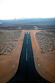 USA, Arizona, Page, a runway at the Page regional airport
