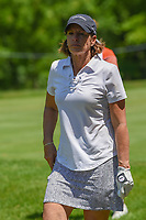 Juli Inkster (USA) makes her way to 11 during round 2 of the 2018 KPMG Women's PGA Championship, Kemper Lakes Golf Club, at Kildeer, Illinois, USA. 6/29/2018.<br /> Picture: Golffile | Ken Murray<br /> <br /> All photo usage must carry mandatory copyright credit (© Golffile | Ken Murray)