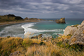 Lookig down on Castlepoint from Castle rock hill.