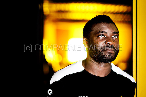 Cameroonian footballer Dorge Rostand Kouemaha  (Belgium, 26/06/2014)
