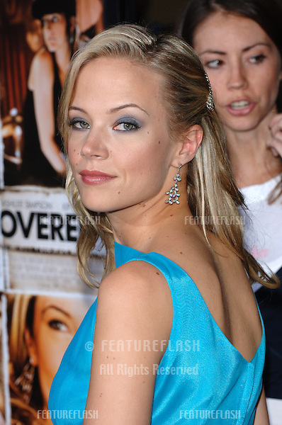 Actress PELL JAMES at the Los Angeles premiere of her new movie Undiscovered..August 23, 2005 Los Angeles, CA.© 2005 Paul Smith / Featureflash