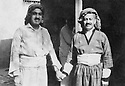 Iraq 1955?.Right , sheikh Marouf Barzinji with a friend.Irak 1955?.A droite sheikh Marouf Barzinji avec un ami
