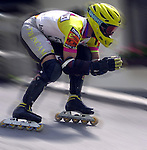 1. Inline Downhill Weltmeisterschaft in 2000