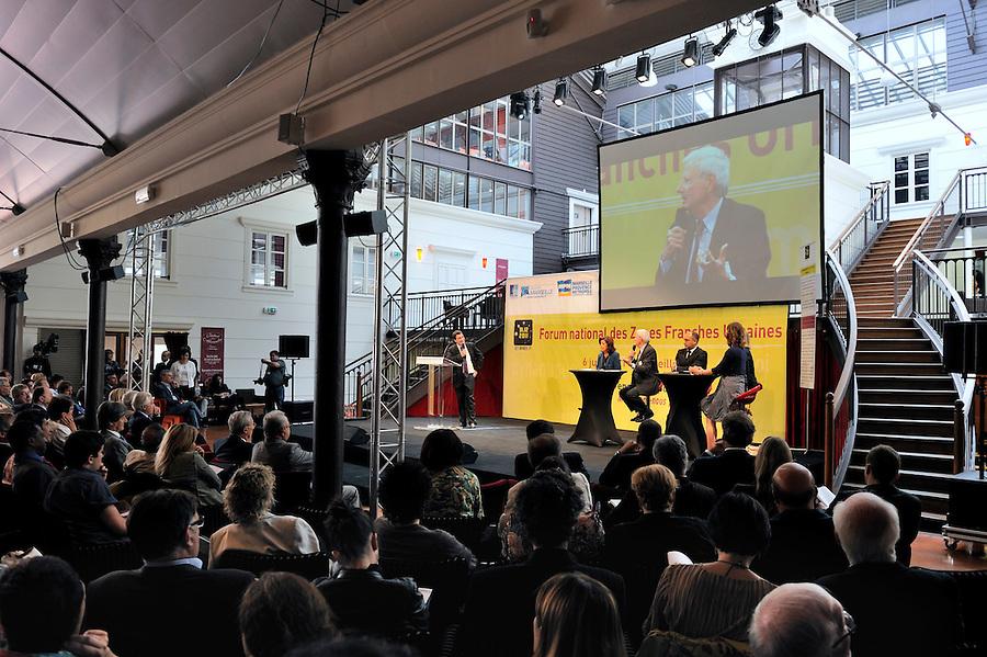Forum nationale des Zones Franches Urbaines organisé par la Communauté urbaine Marseille Provence Métropole, en présence d'Eugène Caselli, président de MPM  - Station Alexandre - 6 juin 2011 - Marseille 2011