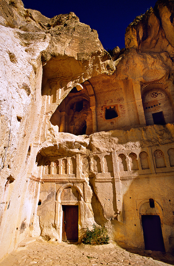 Karnlik Kilise (Dark Church), 11th century, Goreme Open Air Museum, Goreme, Cappadocia, Turkey
