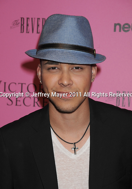 "LOS ANGELES, CA - MAY 12: Prince Royce arrives to the Victoria's Secret 6th Annual ""What Is Sexy? List: Bombshell Summer Edition"" Pink Carpet Event at The Beverly on May 12, 2011 in Los Angeles, California."