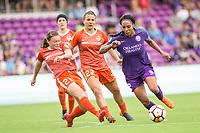 Orlando, FL - Sunday April 22, 2018: Alli Murphy, Amber Brooks, Sydney Leroux Orlando Pride and the Houston Dash at Orlando City Stadium.