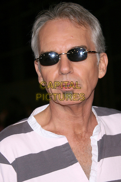 "BILLY BOB THORNTON.""The Astronaut Farmer"" World Premiere - Arrivals held at the Cinerama Dome, Hollywood, California , USA, .20 February 2007..portrait headshot  sunglasses grey and white striped t-hirt top goatee beard.CAP/ADM/ZL.©Zach Lipp/AdMedia/Capital Pictures."