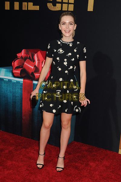 30 July 2015 - Los Angeles, California - Kiernan Shipka. &quot;The Gift&quot; Los Angeles Premiere held at Regal Cinemas LA Live.  <br /> CAP/ADM/BP<br /> &copy;Byron Purvis/AdMedia/Capital Pictures