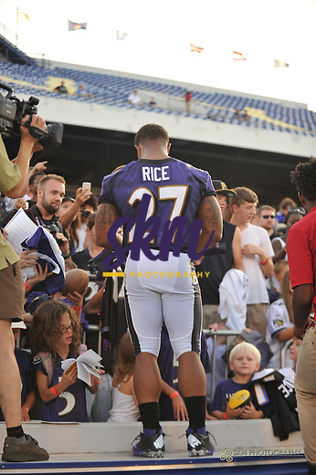 The Ravens held their final open practice of training camp at Navy Marine Corp Stadium Sunday evening in Annapolis.The Ravens held their final open practice of training camp at Navy Marine Corp Stadium Sunday evening in Annapolis.