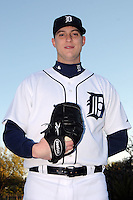 Feb 21, 2009; Lakeland, FL, USA; The Detroit Tigers pitcher Jon Kibler (70) during photoday at Tigertown. Mandatory Credit: Tomasso De Rosa/ Four Seam Images