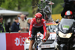 Thomas de Gendt (BEL) Lotto-Soudal in action during Stage 1, a 14km individual time trial around Dusseldorf, of the 104th edition of the Tour de France 2017, Dusseldorf, Germany. 1st July 2017.<br /> Picture: Eoin Clarke | Cyclefile<br /> <br /> <br /> All photos usage must carry mandatory copyright credit (&copy; Cyclefile | Eoin Clarke)