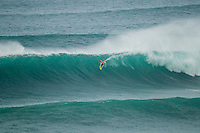 Nazare /Portugal (Sunday, October 21, 2012)  Garrett McNamara (HAW) and Joel Parkinson (AUS) shared a tow in session at the site of the world's largest wave ever ridden, at Nazare today. -  Photo: joliphotos.com