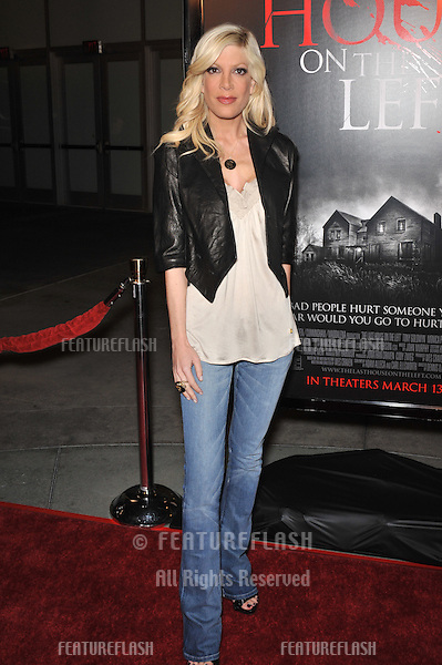 "Tori Spelling at the world premiere of ""The Last House on the Left"" at the Arclight Theatre, Hollywood..March 10, 2009  Los Angeles, CA.Picture: Paul Smith / Featureflash"