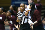 22 March 2015: Referee Felicia Grinter. The Duke University Blue Devils hosted the Mississippi State University Bulldogs at Cameron Indoor Stadium in Durham, North Carolina in a 2014-15 NCAA Division I Women's Basketball Tournament second round game. Duke won the game 64-56.