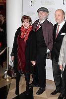 Jean-Pierre MARIELLE et sa femme Agathe NATANSON - Olivier de LADOUCETTE - Gala de l'Association pour la Recherche sur Alzheimer 30 janvier 2017 - Salle Pleyel - Paris - France # GALA DE L'ASSOCIATION POUR LA RECHERCHE SUR ALZHEIMER A PARIS