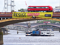 Anti-Trump Banners