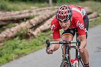 Enzo Wouters (BEL/Lotto-Soudal)<br /> <br /> Ster ZLM Tour (2.1)<br /> Stage 4: Hotel Verviers &gt; La Gileppe (Jalhay)(190km)