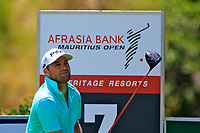 Casey O'Toole (USA) in action during the second round of the Afrasia Bank Mauritius Open played at Heritage Golf Club, Domaine Bel Ombre, Mauritius. 01/12/2017.<br /> Picture: Golffile | Phil Inglis<br /> <br /> <br /> All photo usage must carry mandatory copyright credit (&copy; Golffile | Phil Inglis)