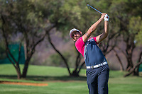 Matthieu Pavon (FRA) during the first round at the Nedbank Golf Challenge hosted by Gary Player,  Gary Player country Club, Sun City, Rustenburg, South Africa. 08/11/2018 Picture: Golffile | Heinrich Helmbold<br /> <br /> <br /> All photo usage must carry mandatory copyright credit (&copy; Golffile | Heinrich Helmbold)
