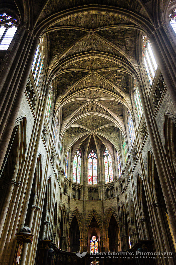 Bordeaux Cathedral (Cathédrale Saint-André de Bordeaux).