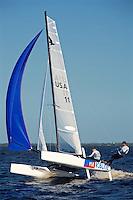 F- Zhik F-18 Americas Championship Race - Race Highlights, Port Charlotte FL 10 15