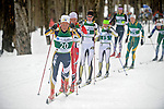 11 MAR 2011: Bernhard Roenning (20) of Michigan State University during the men's 20km Classical Cross Country race during the 2011 NCAA Men and Women's Division I Skiing Championship held Stowe Mountain Resort and Trapp Family Lodge in Stowe, VT. Roenning finished 18th. ©Brett Wilhelm/NCAA Photos