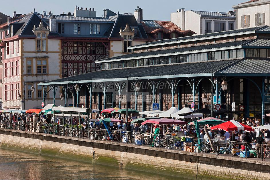 Europe/France/Aquitaine/64/Pyrénées-Atlantiques/Pays-Basque/Bayonne: Marché aux Halles de Bayonne