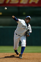 April 26 2004: Felix Hernandez of the Inland Empire 66'ers in action at Arrowhead Credit Union Park in San Bernardino,CA.  Photo by Larry Goren/Four Seam Images