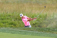 Bethesda, MD - July 2, 2017: Billy Horschel shot from the bunker during final round of professional play at the Quicken Loans National Tournament at TPC Potomac  in Bethesda, MD, July 2, 2017.  (Photo by Elliott Brown/Media Images International)