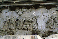 Italy: Rome--Arch of Titus, Bas Relief.