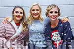 Beale Lips Zipped: Taking part in the  Lips Zipped event at the Ballybunion Community Centre in  aid of Beale GAA on 28th December were the Pitch Perfect girls Sinead McCourt, Zoe Hughes & Emily Devine O'Brien.