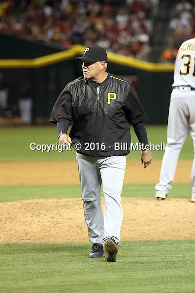 Ray Searage, pitching coach - 2016 Pittsburgh Pirates (Bill Mitchell)
