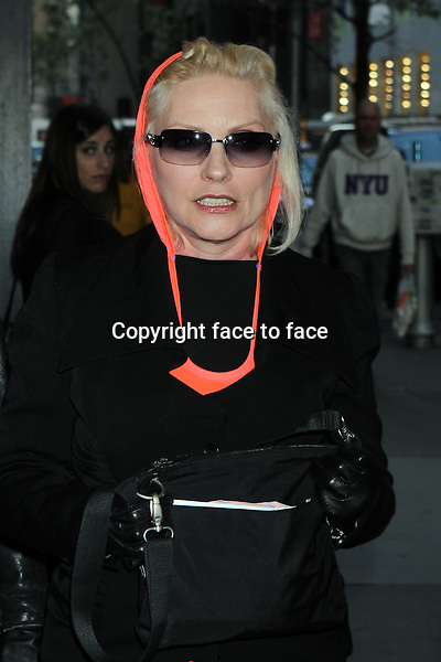 """Debbie Harry arriving at a screening of """"Mud"""" at The Museum of Modern Art in New York, 22.04.2013. .Credit: Rolf Mueller/face to face"""