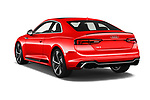 Car pictures of rear three quarter view of a 2019 Audi RS5 4WD 2 Door Coupe angular rear
