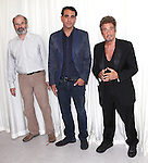 Director Daniel Sullivan, Bobby Cannavale & Al Pacino attending the 'Glengarry Glen Ross' Media Day at Ballet Hispanico Rehearsal Studios in New York City on 9/19/2012.