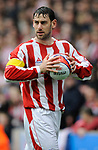 Rory Delap of Stoke City during the Championship League match at The Britannia Stadium, Stoke. Picture date 4th May 2008. Picture credit should read: Simon Bellis/Sportimage