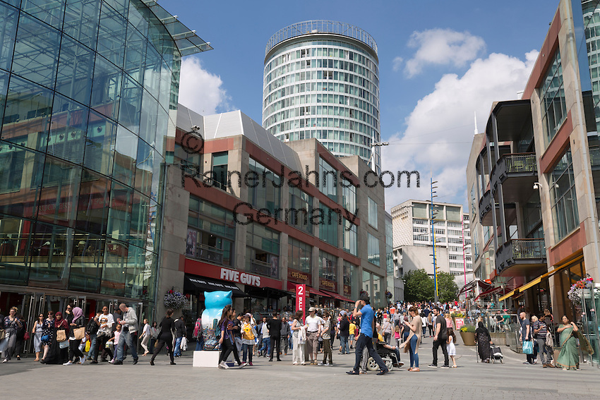 United Kingdom, England, West Midlands, Birmingham: The Bullring Shopping Centre | Grossbritannien, England, West Midlands, Birmingham: The Bullring Shopping Centre