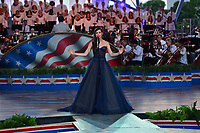 "Washington, DC - July 3, 2017: Actress Sophia Carson performs at the ""Capitol Fourth"" rehearsal concert on the west lawn of the U.S. Capitol July 3, 2017  (Photo by Don Baxter/Media Images International)"