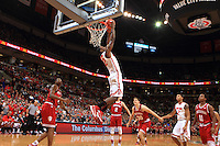 The Ohio State University Men's Basketball team defeat Indiana University 82-70. January 25, 2015.