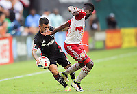 Washington, D.C. - Sunday, August 21, 2016: D.C. United and the New York Red Bulls played to a 2-2 tie in a MLS match at RFK Stadium.