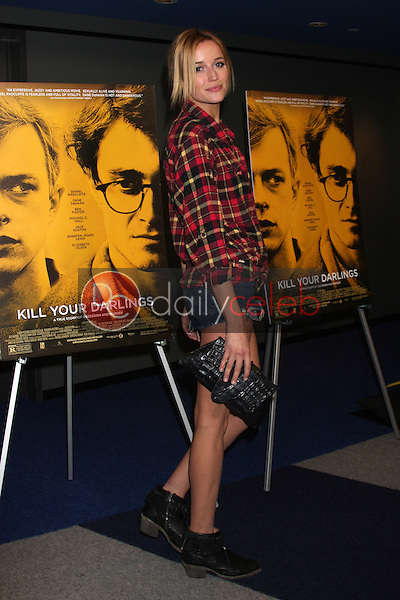 """Sarah Dumont<br /> at the """"Kill Your Darlings"""" Premiere, Writers Guild Theater, Beverly Hills, CA 10-03-13<br /> David Edwards/DailyCeleb.Com 818-249-4998"""